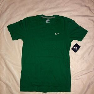 Green Nike Athletic T-shirt